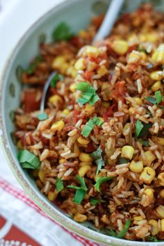 this looks delicious! and all thrown in a rice cooker at once -- woo hoo!  Mexican Wild Rice