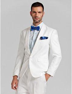 Dinner Jacket Tuxedo Wool Blend Men Wedding Tuxedo Custom Made ...