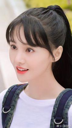 #ZhengShuang Cute Girl Pic, Beautiful Girl Photo, Beautiful Girl Image, Cute Girls, Korean Girl Photo, Cute Korean Girl, Korean Beauty Girls, Asian Beauty, Beautiful Chinese Girl