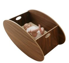 The Cradle Rocks From Front To Back Instead Of Sideways; It's Better For Your…