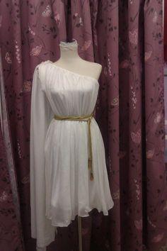 Vestido griego Hebe Up Costumes, Dance Costumes, Cosplay Costumes, Halloween Costumes, Greek God Costume, Greek Goddess Costume, Diy Dress, Fancy Dress, Dress Up