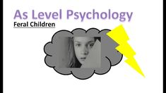 What is a feral child? We will answer that in this lesson as we look at Genie, a feral child who lived in the USA. A Level Revision, Psychology A Level, Twitter, Children, Instagram, Young Children, Boys, Kids, Child