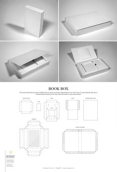 Book Box – FREE resource for structural packaging design dielines