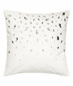 Product Detail Rhinestone Cushion Cover $17.95