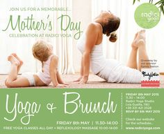 Brunch & Free Yoga at Radici Yoga with a special giveaway from our sponsor, Family Nation!