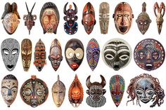 Pop Surrealism, Art Nouveau, Ceramic Mask, Mask Painting, Africa Art, Glass Printing, Fire Glass, Masks Art, African Masks
