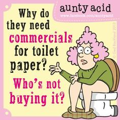 Come on, own up?    (Don't forget to check out your #FREE, brand #NEW Daily #AuntyAcid #GOCOMICS today And be nice and leave us a little comment on there please http://www.gocomics.com/aunty-acid/2013/06/26)