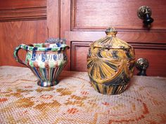Hey, I found this really awesome Etsy listing at https://www.etsy.com/listing/181838832/antique-dutch-pottery-jaspe-kerfsneewerk
