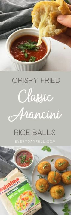 Crispy Fried Arancini