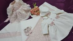 Trusou botez-Enchanting Dream by Johnny Prodcomimpex SRL Baby Girl Dresses, Flower Girl Dresses, Party Wear, Ruffle Blouse, Wedding Dresses, How To Wear, Clothes, Women, Babies
