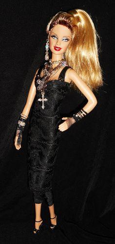 Madonna ~ American music awards 1985 barbie doll ooak EBAY