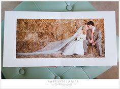 wedding album, wedding album designed by Katelyn James Photography