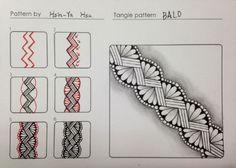 Zentangle pattern - BALO