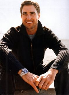Luke Wilson - once again funny and cute, do you see a perfect man recipe formulating here? Hot Actors, Actors & Actresses, Pretty People, Beautiful People, Great Smiles, San Fernando, Celebs, Celebrities, Good Looking Men