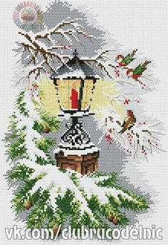 1 million+ Stunning Free Images to Use Anywhere Xmas Cross Stitch, Counted Cross Stitch Patterns, Cross Stitch Charts, Cross Stitch Designs, Cross Stitch Embroidery, Cross Stitching, Vintage Cross Stitches, Cross Stitch Landscape, Theme Noel