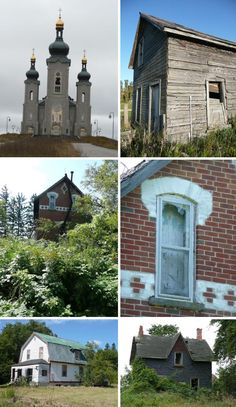 Abandoned Mansions, Farms and Ghost Towns Abandoned Mansions, Abandoned Buildings, Abandoned Places, Building Structure, Building A House, Spooky Places, Old Houses, Farm Houses, Work From Home Business