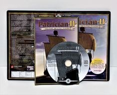 PC CD-ROM PATRICIAN II 2 COMPUTER GAME SAIL WEALTH  FIGHT POWER GLORY SIMULATION Playstation, Xbox, Game Sales, All Games, Click Photo, Gaming Computer, Video Game Console, My Ebay, Wii