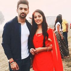 Hey Everyone ❣ Tv Couples, Celebrity Couples, Indian Outfits, Indian Clothes, Aditi Sharma, Indian Celebrities, Indian Beauty Saree, Best Couple, Indian Actresses