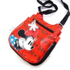 "Bag designer ""Minnie"" red black. - http://handbagscouture.net/brands/disney/bag-designer-minnie-red-black/"