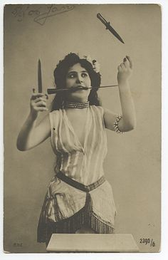 Knife Thrower, The Netherlands, 1906