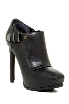 Indraz Platform Ankle Bootie by GUESS on @HauteLook