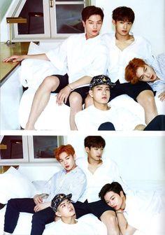 BTOB - Sungjae, Hyunsik, Peniel and Changsub SUMMER COLOR