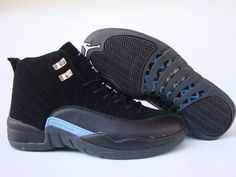 a60661a68ee3dc Jordan Shoes Air Jordan 12 Retro Black White University Blue  Air Jordan 12  - Are you seeking for a cool shoe which differs you from anybody else
