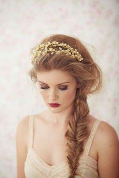 - Bodas Colorín Colorado -: - 70 Trenzas para inspirar tu peinado de novia -