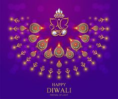 Illustration about Happy Diwali festival card with gold diya patterned and crystals on paper color Background. Illustration of card, ethnicity, diya - 120260504 Diwali Greeting Card Messages, Diwali Greetings Quotes, Diwali Wishes In Hindi, Happy Diwali Quotes, Diwali Cards, Diwali Diya, Diwali Pooja, Happy Diwali Pictures, Diwali Photos
