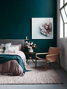 Amazing blue bedroom luxury bedroom idea master bedroom decor painting lamp nighslee mem… – All About Home Decoration Blue Bedroom Decor, Bedroom Green, Bedroom Colors, Decor Room, Master Bedroom, Bedroom Ideas, Design Bedroom, Bedroom Lamps, Bedroom Chandeliers