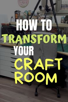 Organize Your Craft Room Easily! - Transform your craft room with a few easy steps and a printable de-clutter progress list! Craft Room Organisation, Scrapbook Room Organization, Craft Room Storage, Craft Rooms, Scrapbook Rooms, Paper Storage, Craft Storage Solutions, Storage Ideas, Space Crafts
