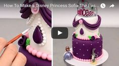 sofia princess, cake,cakes,cake kids,for kids birthday,cake tutorial,cake video,