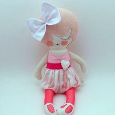 Muñecas de trapo PiggyHatesPanda