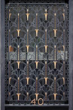 Art Deco. Характерный узор для ар деко #artdeco