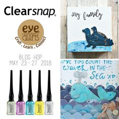 Clearsnap and Eye Connect Crafts Blog Hop May 2016