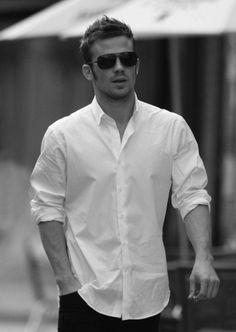 White shirt, hot