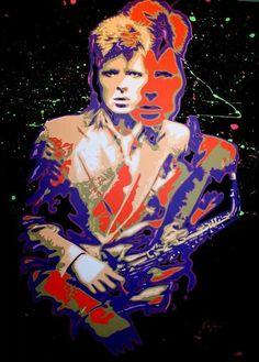 David Bowie, Collage Art