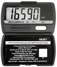 Accusplit - Pedometer - Product Details