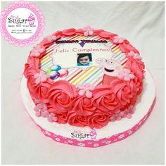 P318 torta peppa pinksugar#pinksugar #cupcakes  #barranquilla #pasteleria #reposteriacreativa #tortas #fondant #reposteriabarranquilla #happybirthday  #vainilla  #cake #baking  #galletas #cookies  #buttercream #vainilla  #oreo  #cupcakesbarranquilla #brownie #brownies #chocolate #tortasbarranquilla #peppapig #peppacake