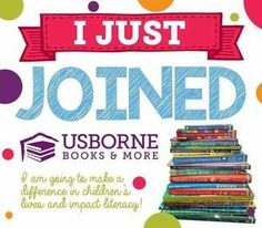 Hey guys! I'm excited to announce that I am a new consultant with Usborne books and more! I'm so excited to share these books with you. If you are interested and hosting a party with me, I can offer you double the amount of free books since I am a new consultant. I would love to throw a party for you! Drop me a line on Facebook (www.facebook.com/MisfitMommySky) or go to http://d6064.myubam.com/