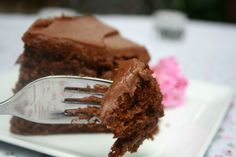 Chocolate Cake for a Needy Moment.