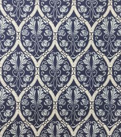 Two Daughters™ Cotton Fabric-Damask Foilage