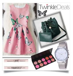 """""""Twinkledeals butterfly print"""" by fashion-with-lela ❤ liked on Polyvore featuring Visionnaire, Summer and Butterflyprint"""