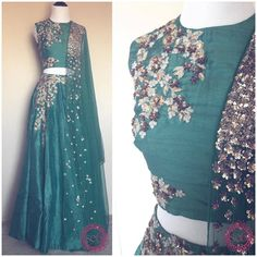 Gorgeous new Ridhi Mehra designs available at Studio Email… Pakistani Outfits, Indian Outfits, India Fashion, Asian Fashion, Lehenga Designs, Desi Clothes, Indian Attire, Indian Wear, Indian Couture