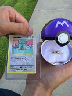 The perfect way to propose!