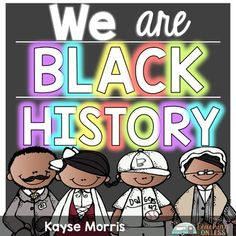 Teach students about Black History Month with these four influential black Americans.
