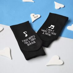 Personalised First Dance Wedding Socks