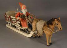 XX   santa and his sleigh