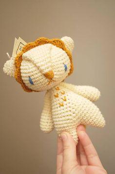 milasila / lev Cute Crochet, Dinosaur Stuffed Animal, Teddy Bear, Toys, Animals, Activity Toys, Animales, Animaux, Clearance Toys