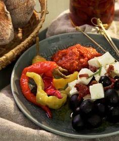 Pečené řecké fazole   Recepty na Prima Fresh Fruit Salad, Fresh, Meat, Chicken, Food, Fruit Salads, Essen, Meals, Yemek